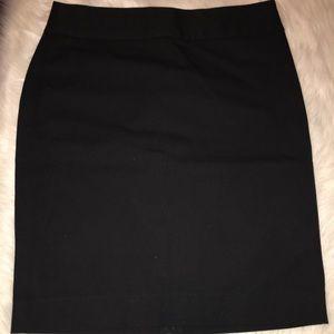 NWT Banana Republic Black Pencil Skirt 8P